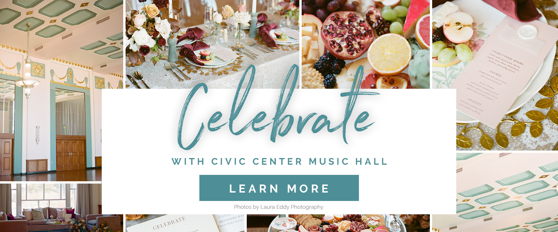 Celebrate with Civic Center Music Hall