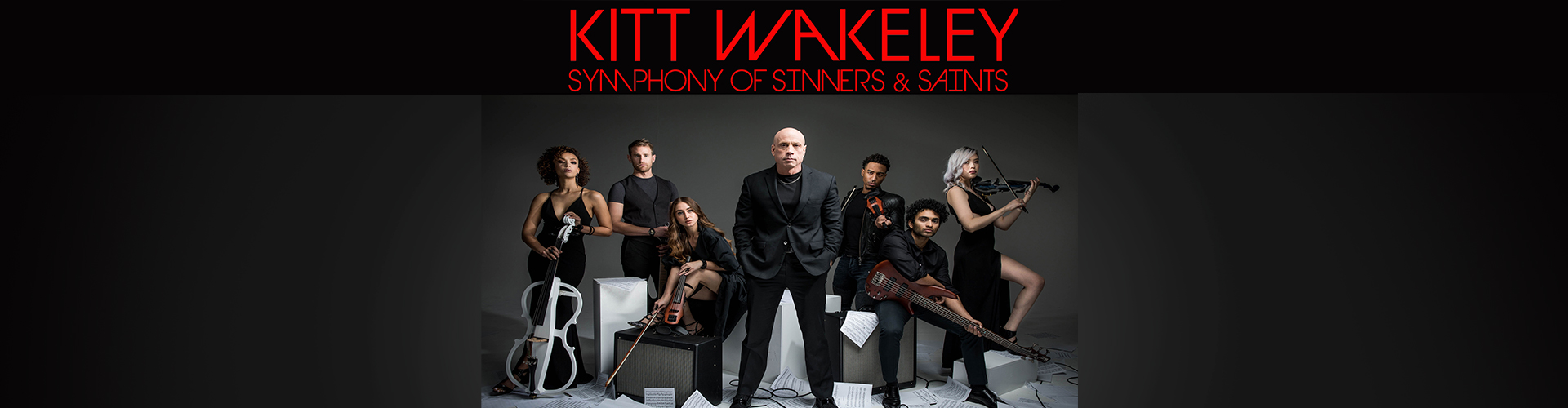 Kitt Wakeley and the Symphony of Sinners & Saints