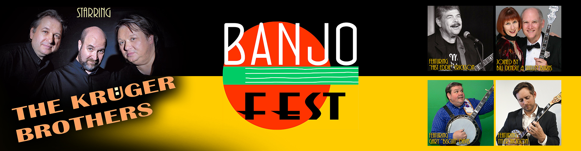 BANJO FEST featuring The Kruger Brothers